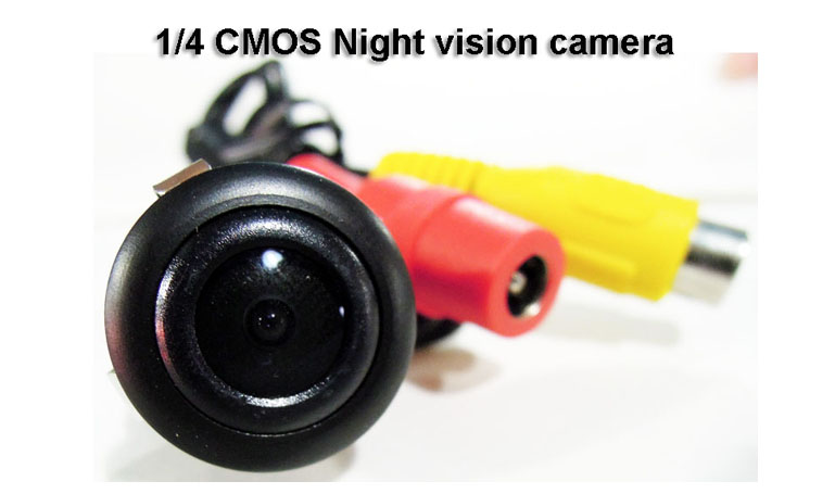rear view camera with PAL/NTSC 97 degree