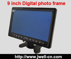 9 inch TFT LCD TV with USB,SD Card reader (Digital photo frame)