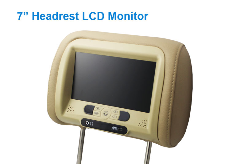 7 inch TFT Headrest  lcd monitor