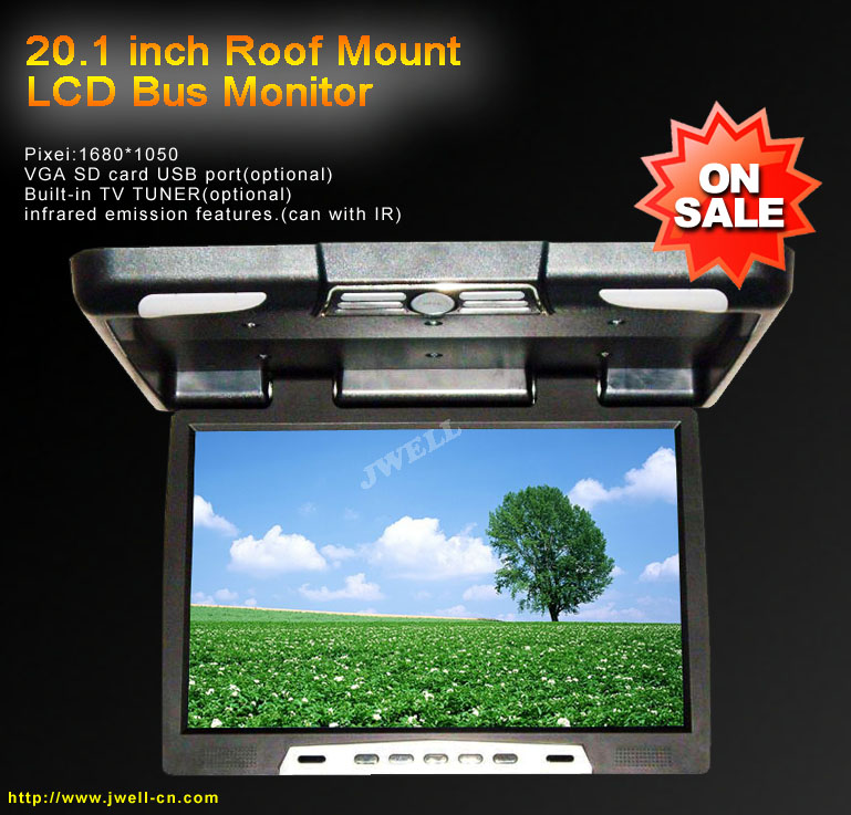 20.1 inch Roof Mount LCD Bus Monitor
